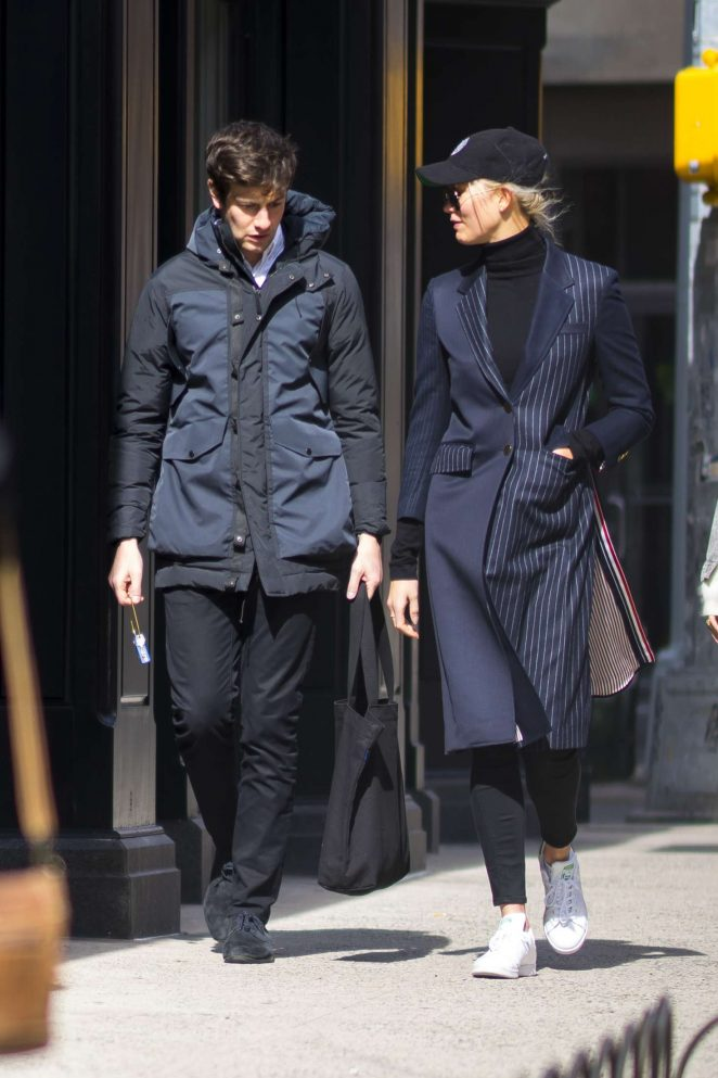 Karlie Kloss and Joshua Kushner out in New York City