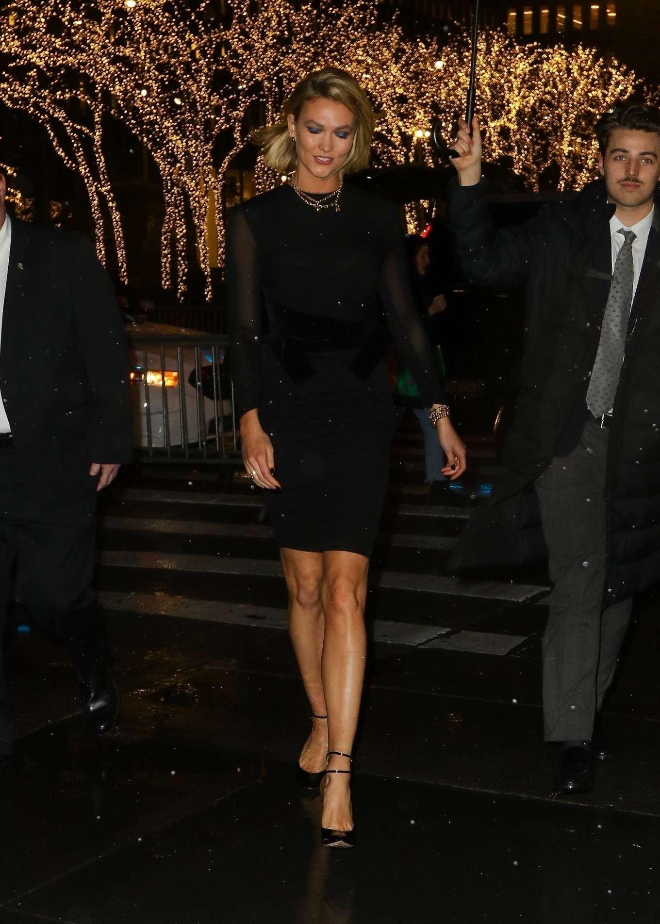 Karlie Kloss 2019 : Karlie Kloss – Arrives at The Tonight Show Starring Jimmy Fallon-04