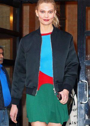 Karlie Kloss - Arriving at 'Good Morning America' in NY