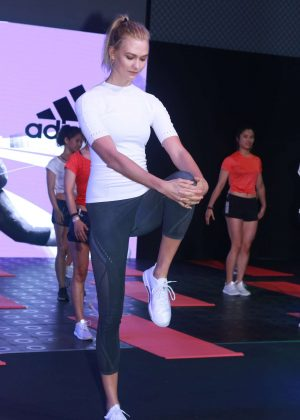 Karlie Kloss at Adidas 'Republic of Sports' event in Shanghai
