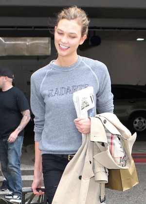 Karlie Kloss at LAX Airport in LA