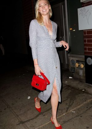 Karlie Kloss - Attends Harry Josh pre-Met Gala party in New York