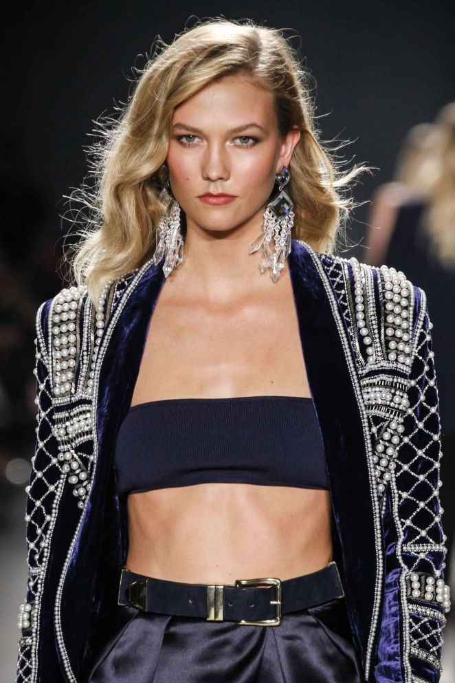 Karlie Kloss - Balmain x H&M Collection Launch in NYC