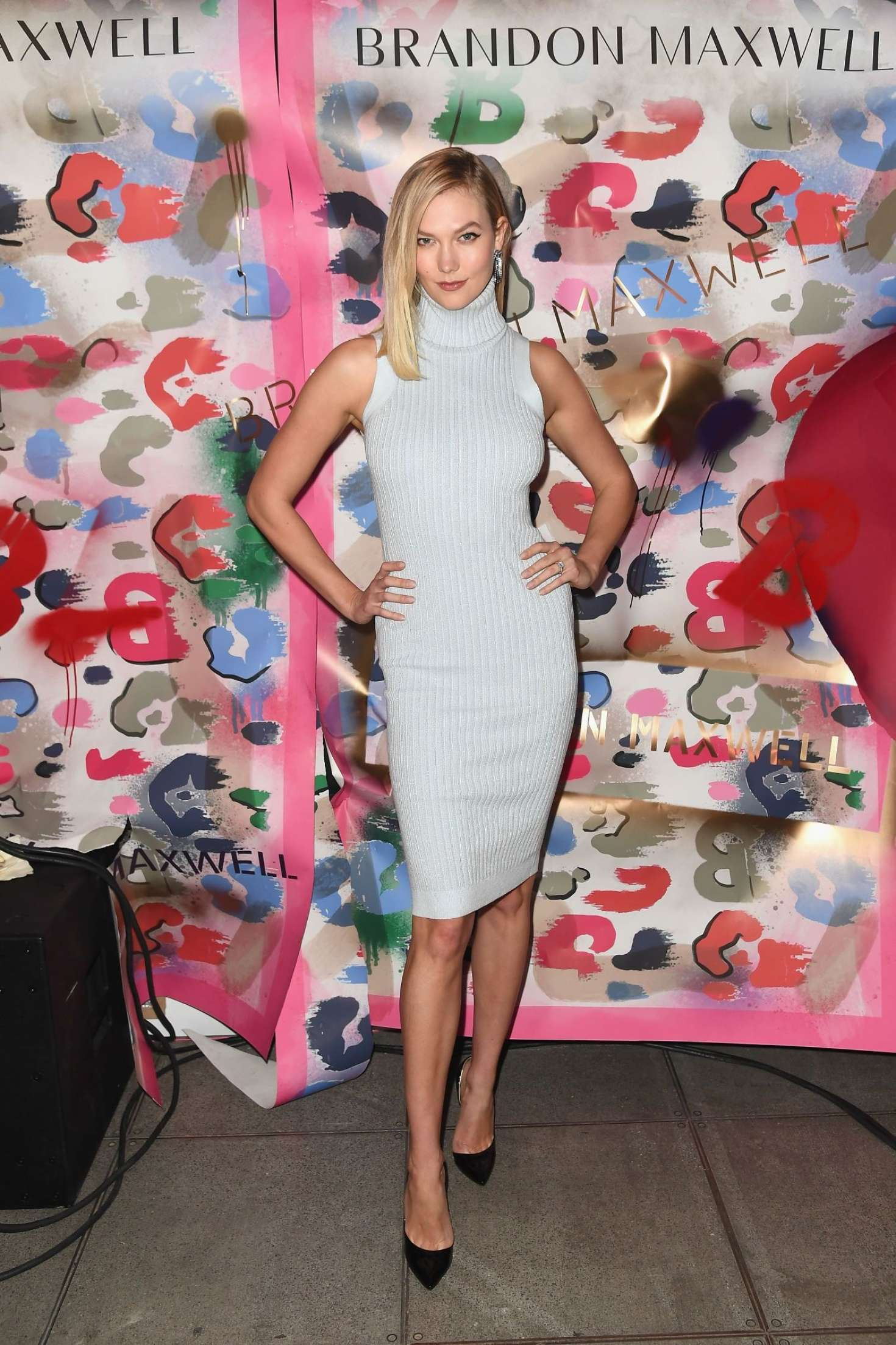 Karlie Kloss - Brandon Maxwell's Show in NYC