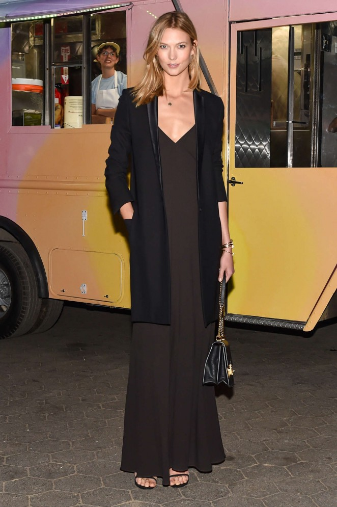 Karlie Kloss - Calvin Klein Collection Celebrates of 'Creative Time's Drifting in Daylight Art in Central Park' in NY