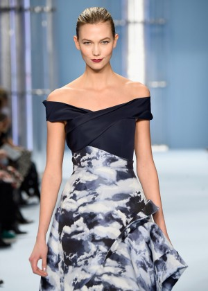 Karlie Kloss - Carolina Herrera Fashion Show 2015 in NYC