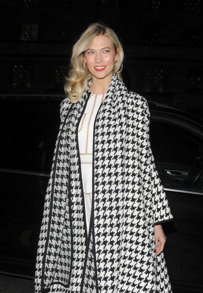 Karlie Kloss – Carolina Herrera Fragrances launch of Good Girl in London