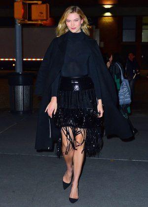 Karlie Kloss - Diane Von Furstenberg Fashion Show in NYC
