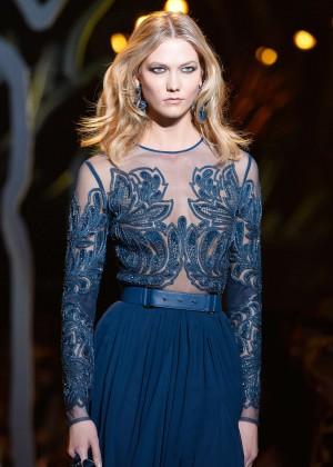 Karlie Kloss - Elie Saab Fashion Show 2015 in Paris