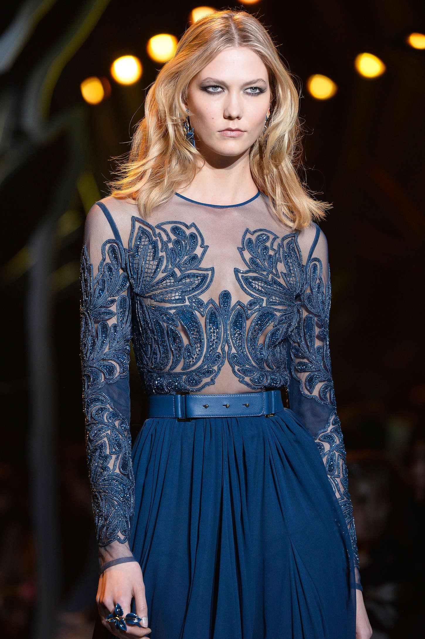 Dita von Teese: Elie Saab Fashion Show 2015 -10 | GotCeleb