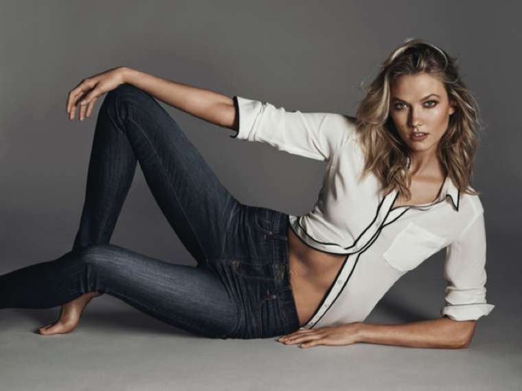 Karlie Kloss - Express Jeans Campaign 2015