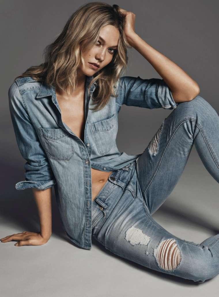 Karlie Kloss: Express Jeans Campaign 2015 -08 - GotCeleb