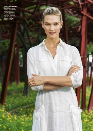 Karlie Kloss for Vogue US Magazine (October 2018)