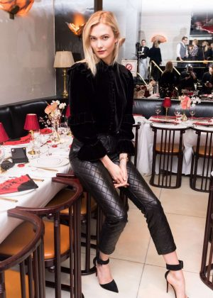 Karlie Kloss - Frame Fifth Anniversary Dinner in New York