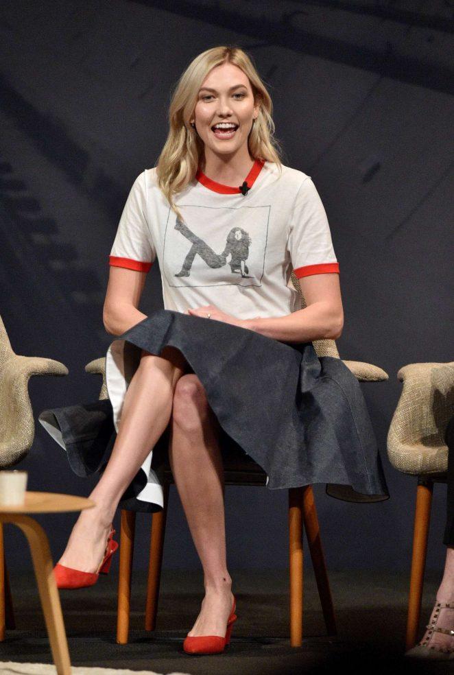 Karlie Kloss – Freeform Summit 2018 in Los Angeles