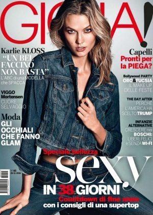 Karlie Kloss - Gioia Italy Magazine (November 2016)