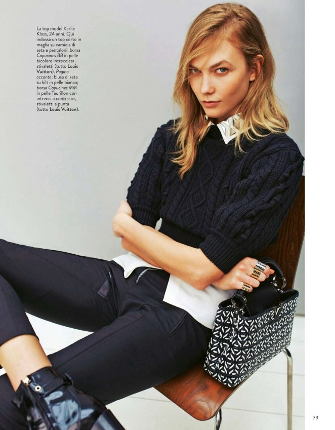 Karlie Kloss - Grazia Italy Magazine (October 2016)