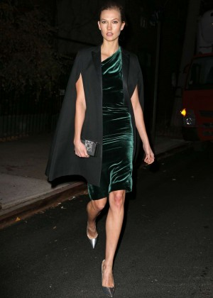 Karlie Kloss - Heading to a Party in New York