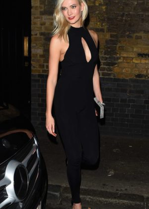Karlie Kloss - Heading to the afterparty at The Chiltern Firehouse in London