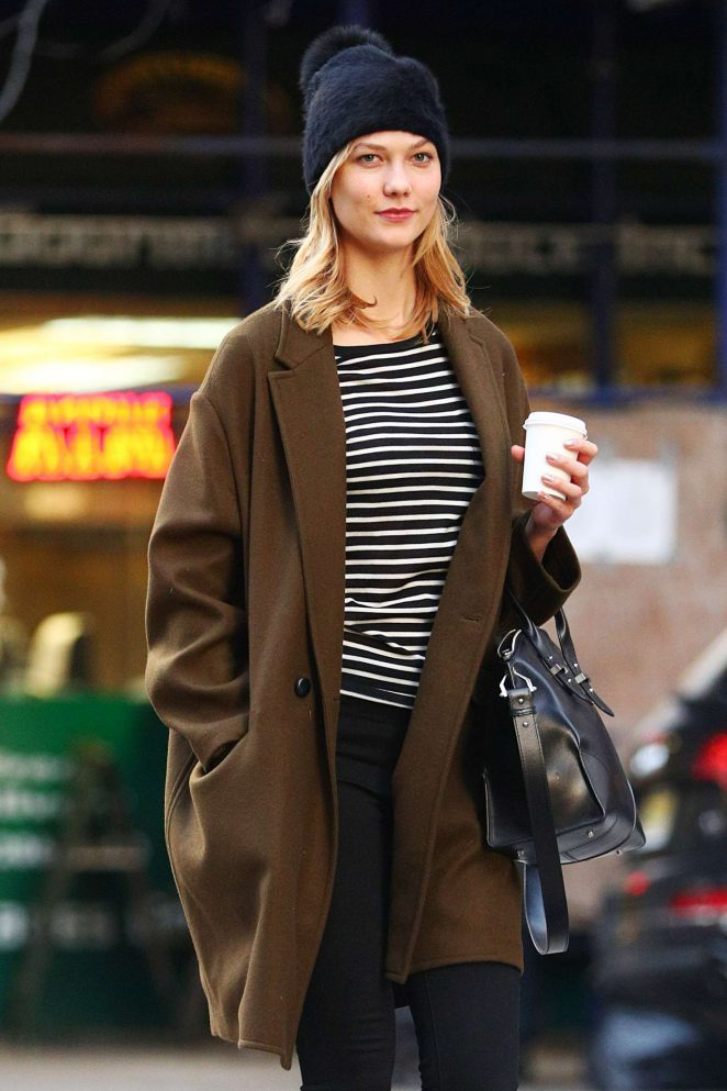Karlie Kloss: Heads to a meeting in New York -01