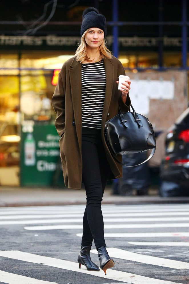 Karlie Kloss: Heads to a meeting in New York -02
