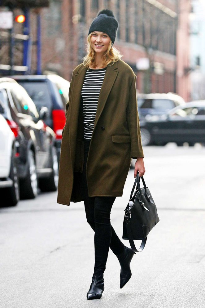 Karlie Kloss: Heads to a meeting in New York -18