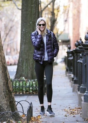 Karlie Kloss In Tights Out And About In New York-05
