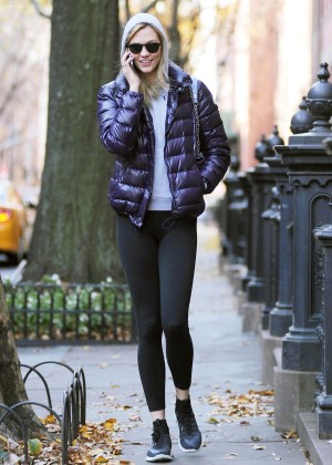 Karlie Kloss In Tights Out And About In New York-08