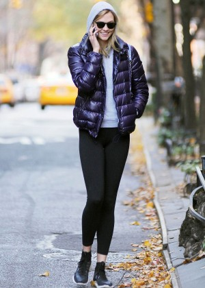 Karlie Kloss In Tights Out And About In New York-16