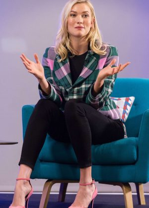 Karlie Kloss - Iron School Talk in London