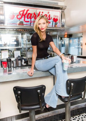 Karlie Kloss: Karlie Kloss x Frame Denim Meet and Greet -02