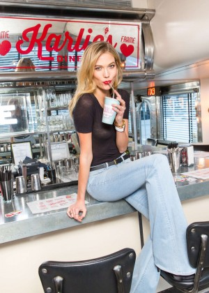 Karlie Kloss: Karlie Kloss x Frame Denim Meet and Greet -08