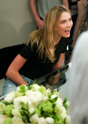Karlie Kloss: Karlie Kloss x Frame Denim Meet and Greet -12