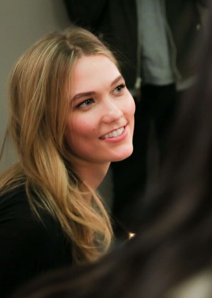 Karlie Kloss: Karlie Kloss x Frame Denim Meet and Greet -16