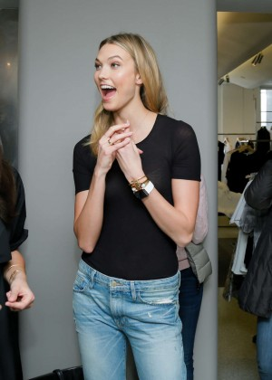 Karlie Kloss: Karlie Kloss x Frame Denim Meet and Greet -19