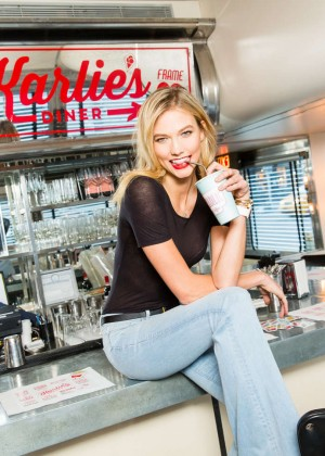 Karlie Kloss: Karlie Kloss x Frame Denim Meet and Greet -20