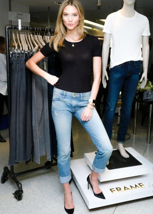 Karlie Kloss: Karlie Kloss x Frame Denim Meet and Greet -29