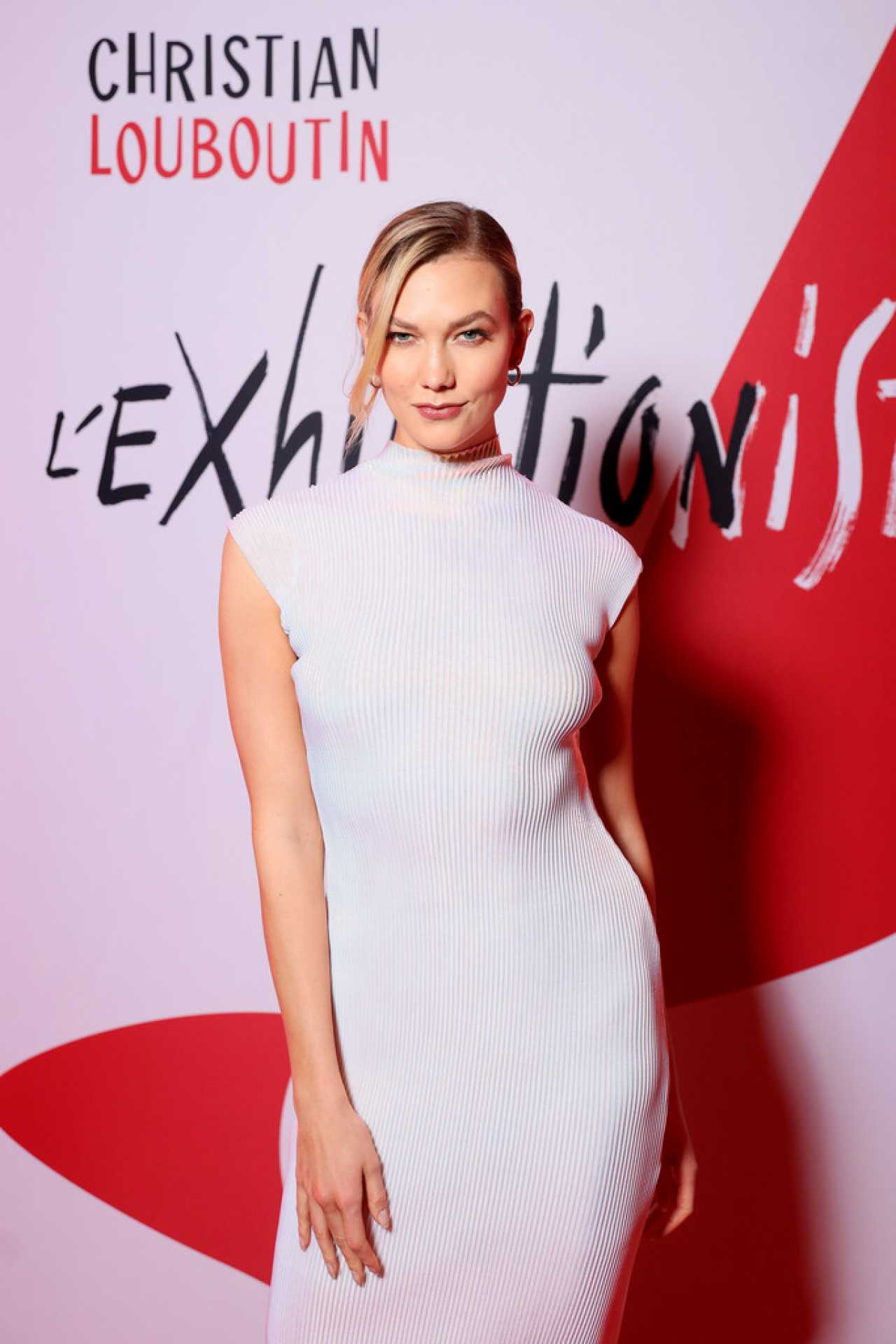 Karlie Kloss - L'Exibition by Christian Louboutin opening in Paris