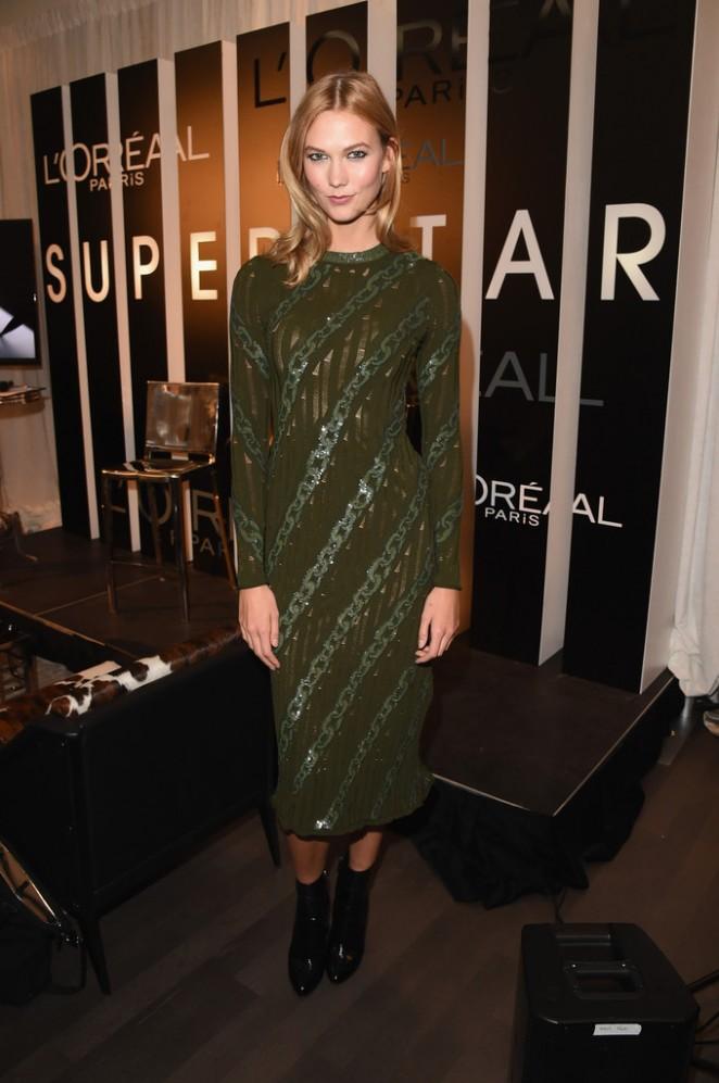 Karlie Kloss: LOreal Paris TIFF kick-off VIP Cocktail Reception -02