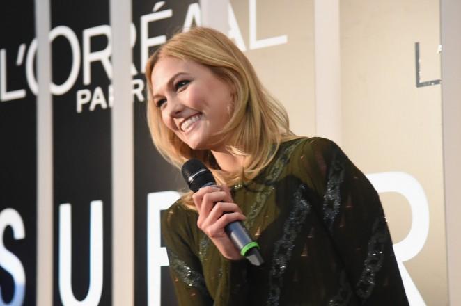 Karlie Kloss: LOreal Paris TIFF kick-off VIP Cocktail Reception -04