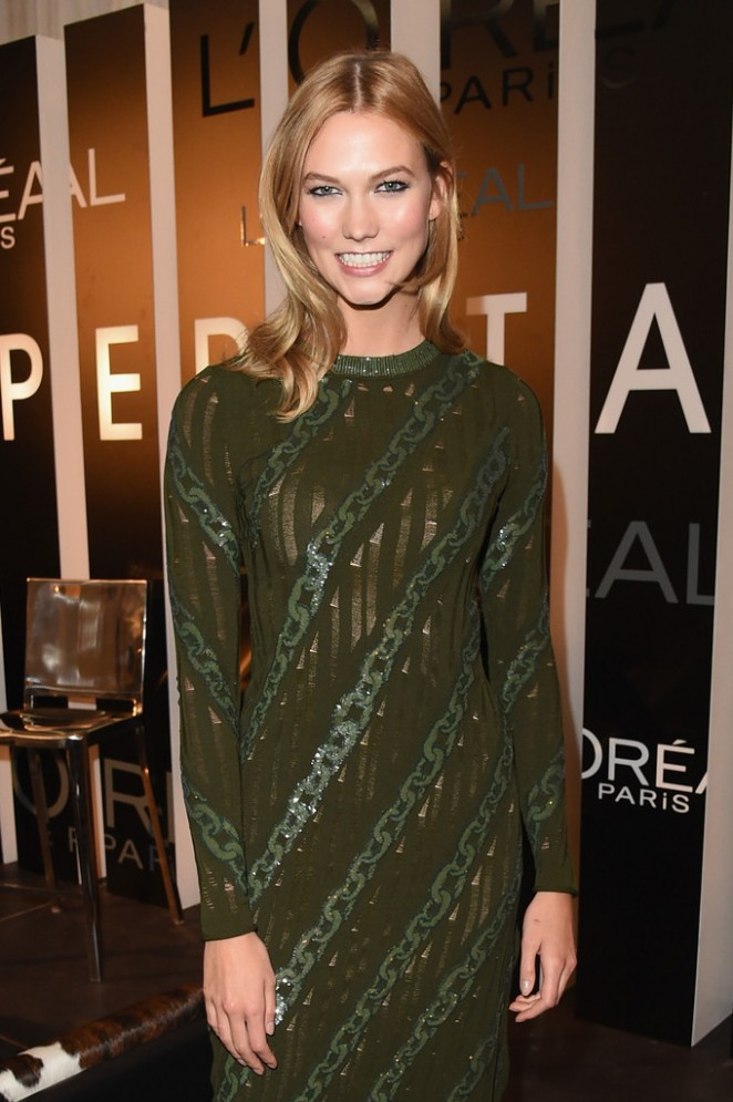 Karlie Kloss - L'Oreal Paris TIFF kick-off VIP Cocktail Reception in Toronto