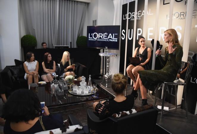 Karlie Kloss: LOreal Paris TIFF kick-off VIP Cocktail Reception -11