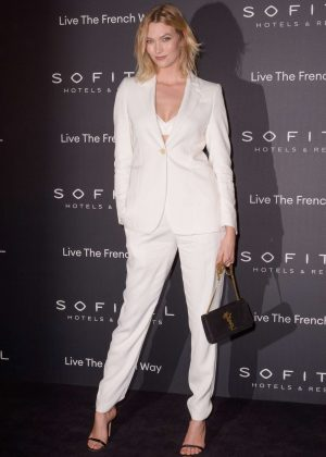Karlie Kloss - La Nuit by Sofitel Party with CR Fashion Book in Paris