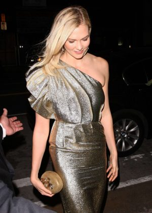 Karlie Kloss - Leaving Gwyneth Paltrow Black Tie Event in LA