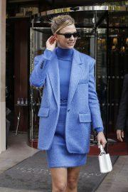 Karlie Kloss - Leaving her hotel in Paris
