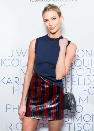 Karlie Kloss - LVMH Prize Young Fashion Designer 2015 in Paris