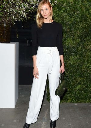 Karlie Kloss - Maisonette.com Launch Dinner Party in New York