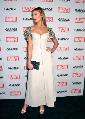 Karlie Kloss - Marvel and Garage Magazine New York Fashion Week Event in NY