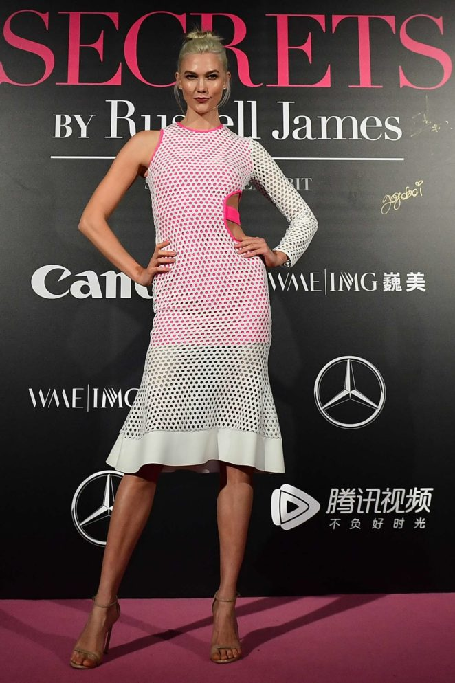 Karlie Kloss - Mercedes-Benz 'Backstage Secrets' by Russell James in Shanghai