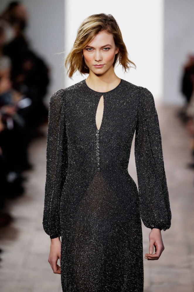 Karlie Kloss - Michael Kors Fashion Show 2015 in NYC